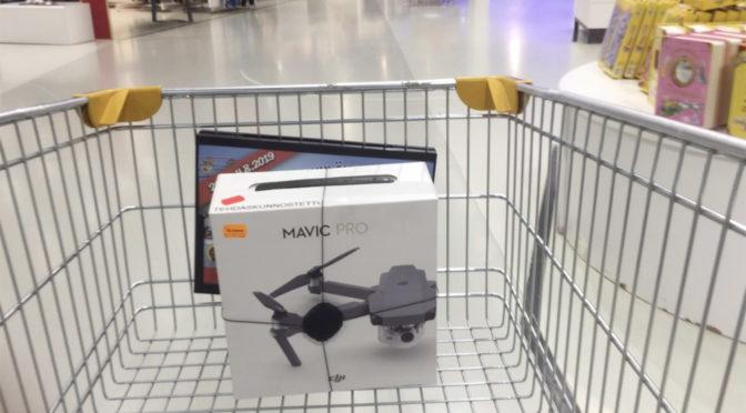 Drone tuli taloon